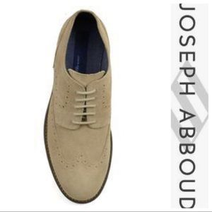 Brand New! Joseph Abboud Tan Suede Shoes Shoes
